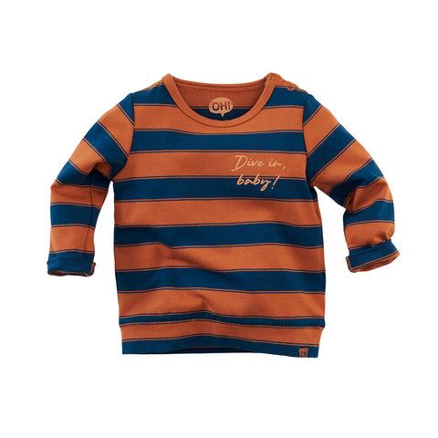 Z8 NOOS shirt Dubai Copper blush/Bluebird - TopKidsFashion