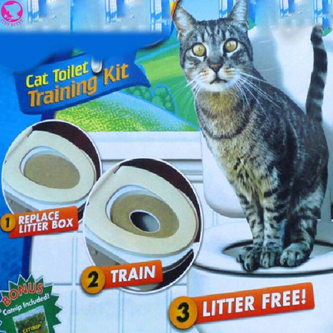 Image of Learn Cat Toilet Training Kit