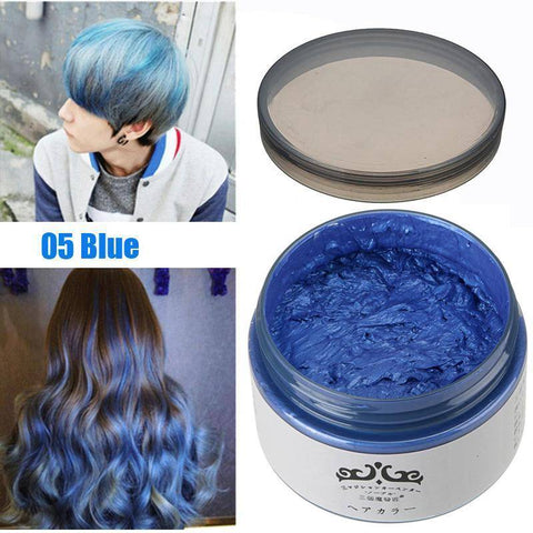 7 Color Hair Wax