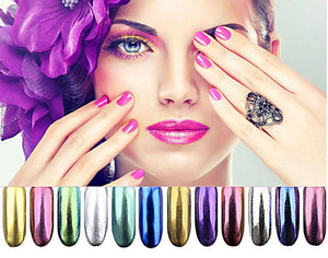 12 Color Magic Mirror Nails - TRENDY DEALS