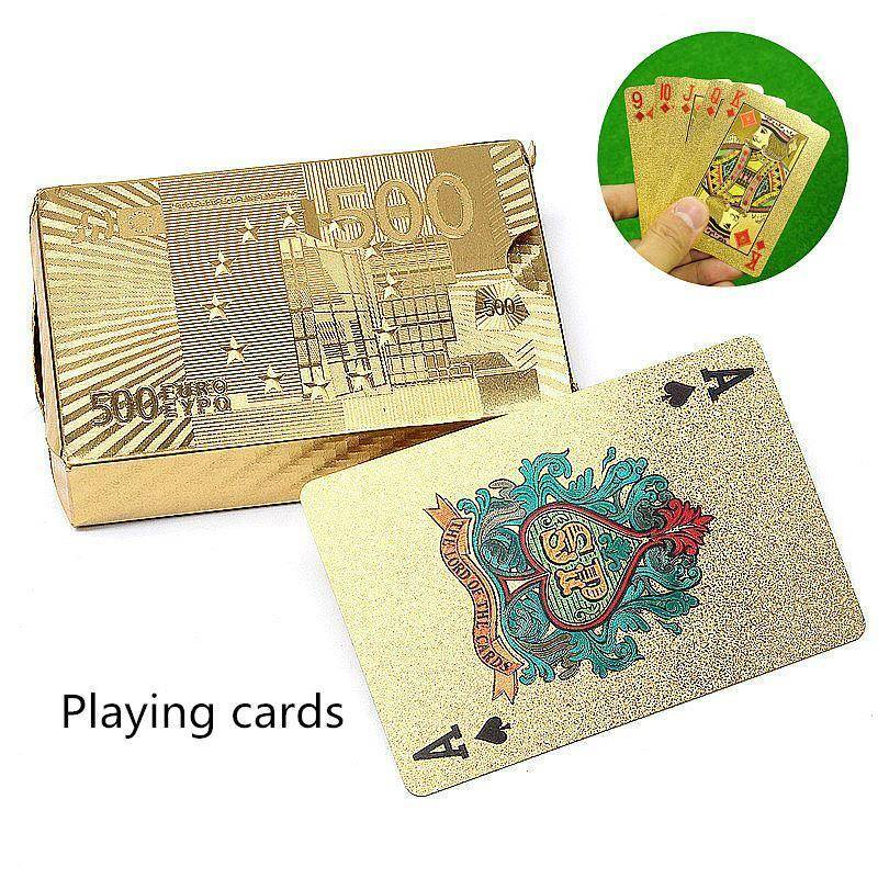 Special Edition Gold Playing Cards