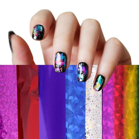 Nail Art Transfer Stickers Design - TRENDY DEALS