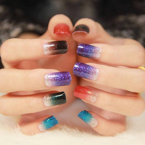 Image of 18 Colors Mix UV Gel Nail Art Glitter - TRENDY DEALS