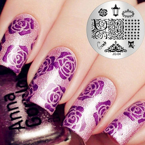 Salon Express As Seen On TV Nail Art Stamping Kit - TRENDY DEALS
