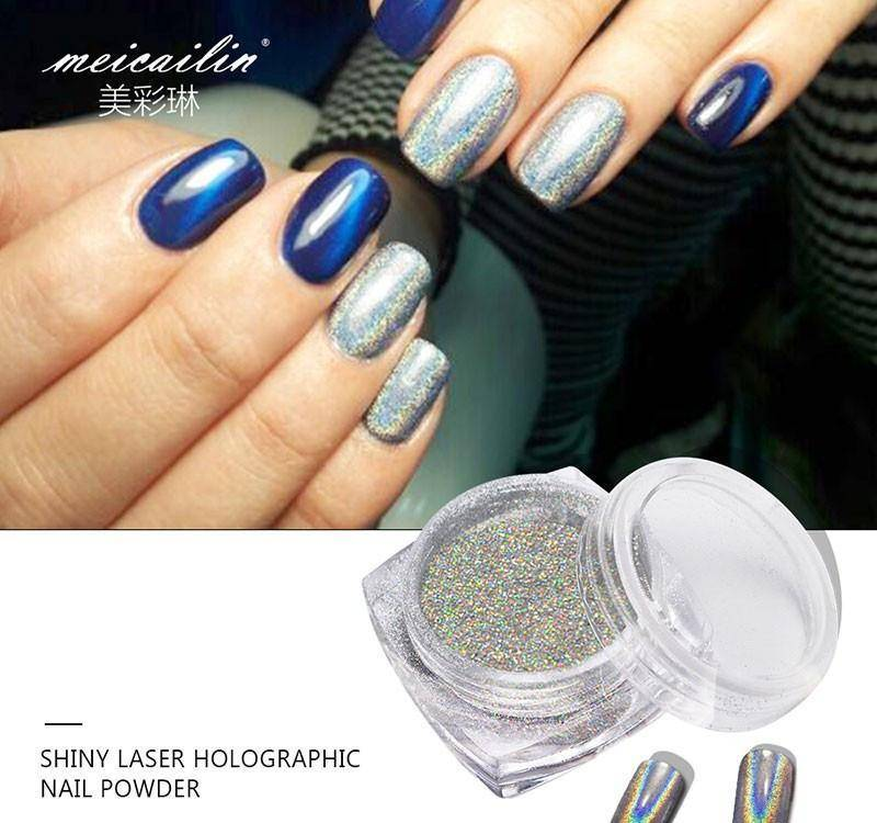 Shiny Laser Nail Holographic Powder - TRENDY DEALS