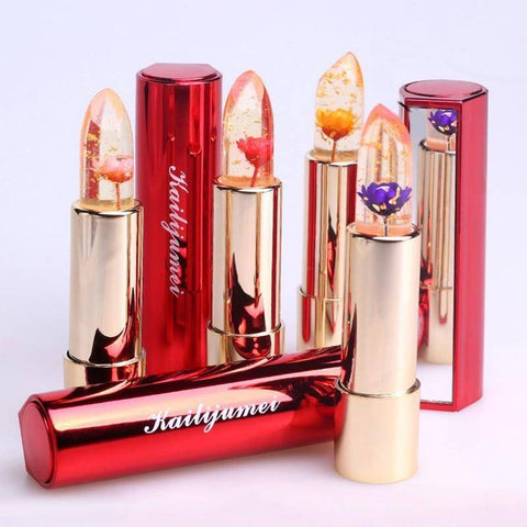 FLOWER JELLY LIPSTICK WORLDS MOST BEAUTIFUL LIPSTICK! - TRENDY DEALS