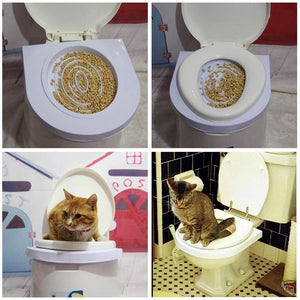 Learn Cat Toilet Training Kit