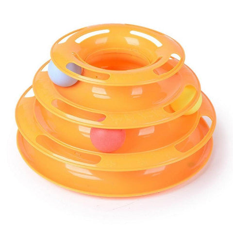 Image of Three Level Tower Cat Toy