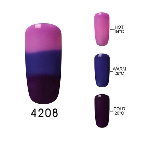Elite99 Mood Changing Color Gel Nail Polish 32 UV Color Thermal Temperature Color Change Gel Varnish Nail Polish 10ML/PC - TRENDY DEALS