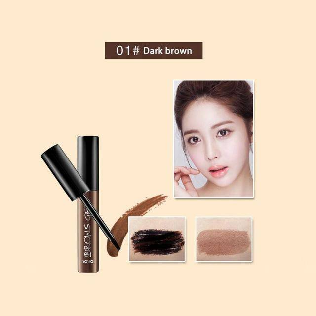 3 Color Beauty Peel-off Eyebrow Tint