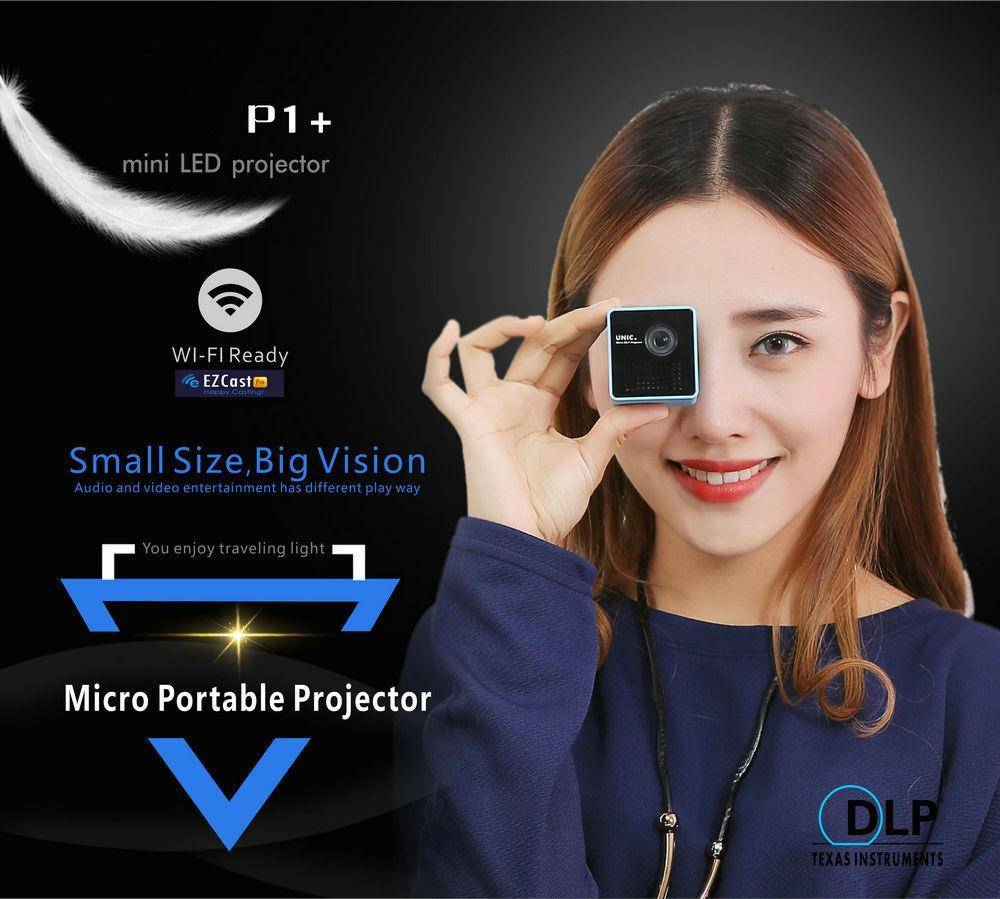 A+ Micro Wireless Projector