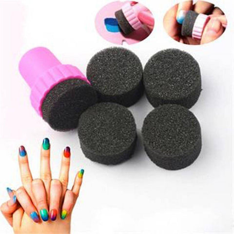 Image of 4pcs/set Gradient Tool for Nail Art - TRENDY DEALS