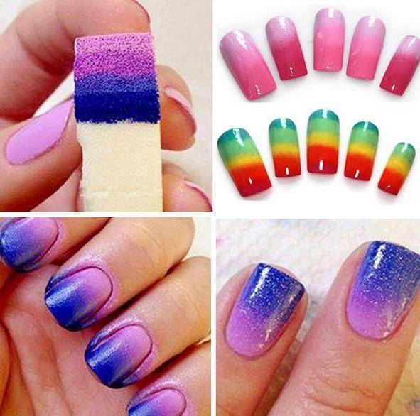 4pcs/set Gradient Tool for Nail Art - TRENDY DEALS