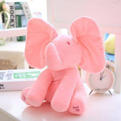 Image of Peek-a-boo Plush Elephant