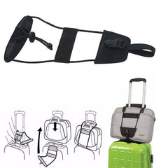 Usefull Home Supplies Portable Cords Add A Bag Strap Travel Luggage Suitcase Adjustable Belt Carry On Bungee Strap