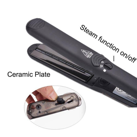 Image of Professional Steam Hair Straightener