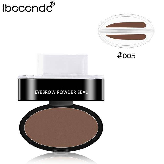 Eyebrow Powder Stamp for Easy Natural Looking Brows