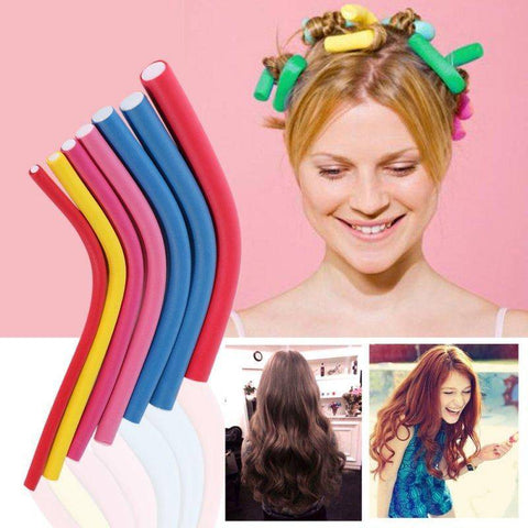 Image of 20pcs/lot Hair Curling Flexi Rods