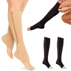 Women Zipper Socks