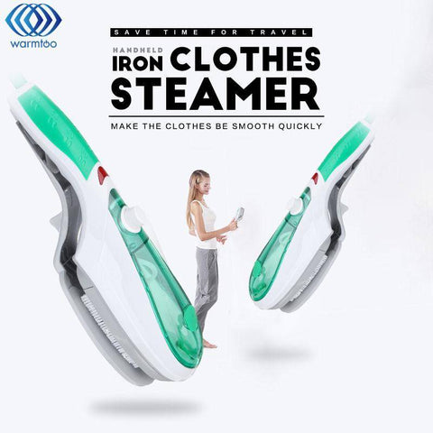 Image of Garment Steamer Brush Clothing Iron Portable Handheld Electric Steam