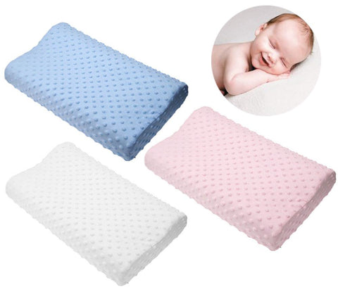 Latex - Memory Foam Orthopedic Pillow - 3 Colors