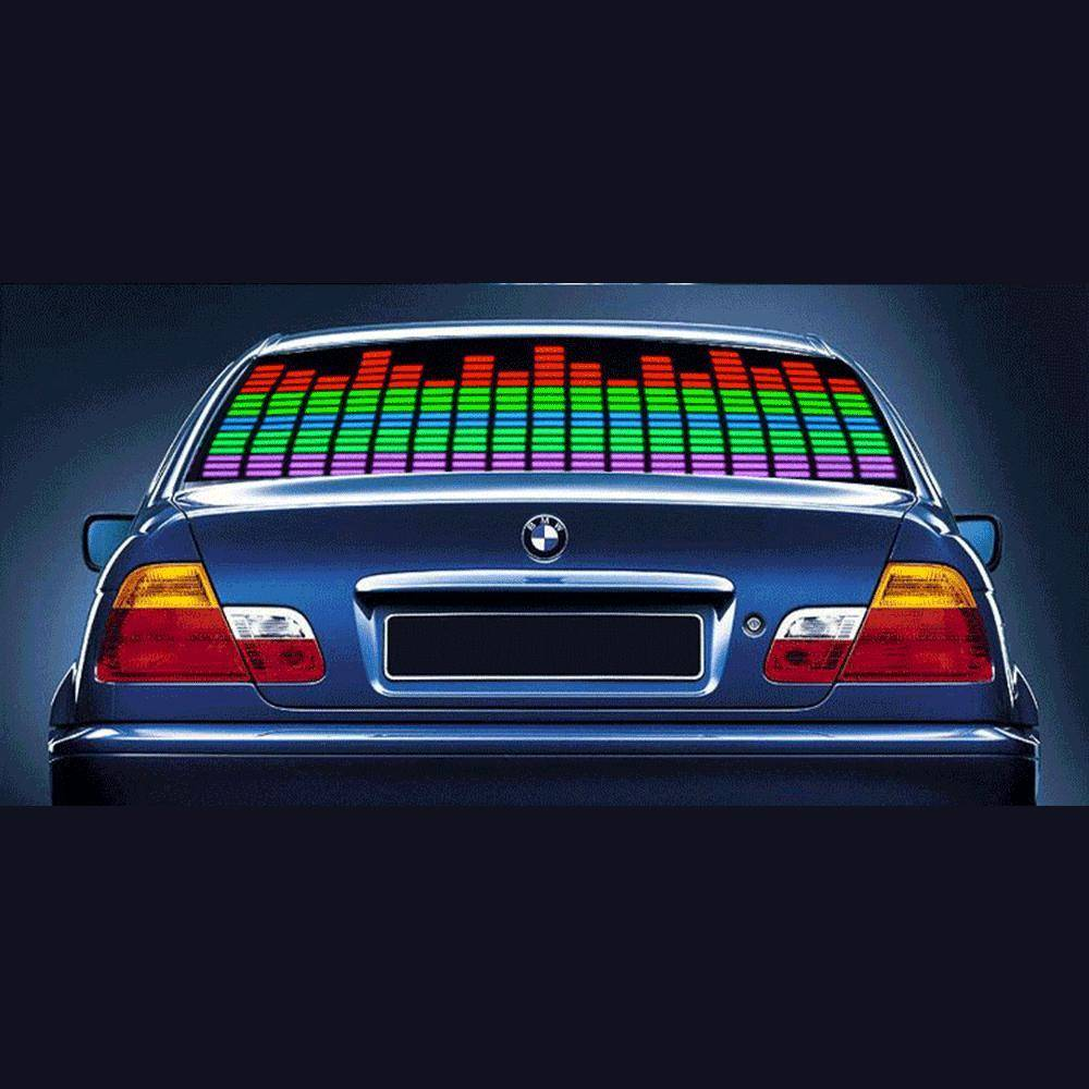 LED Car Window Equalizer