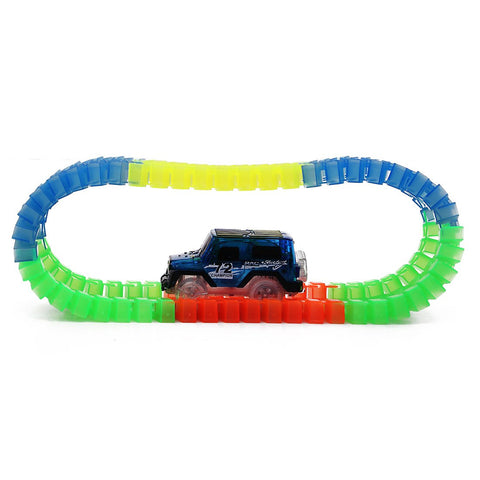 Customizable Glowing Race Track Set