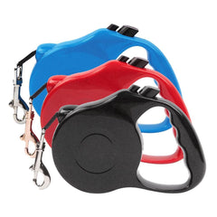 10-foot Red Extra-Small Retractable Dog Leash