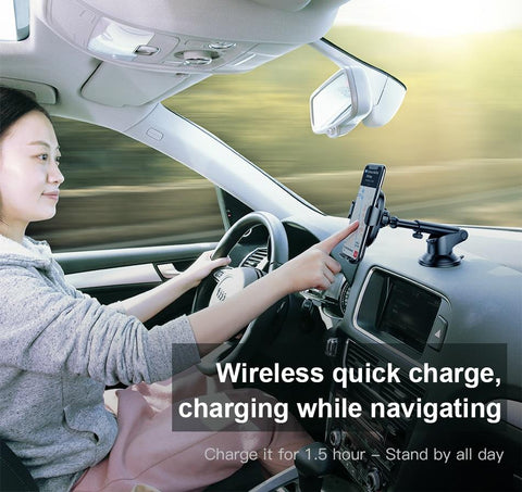 Image of baseus wireless car charger