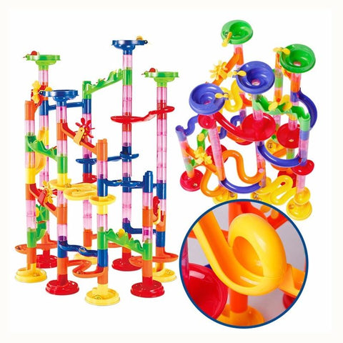 Image of DIY STEM Toy Marble Ball Maze Track