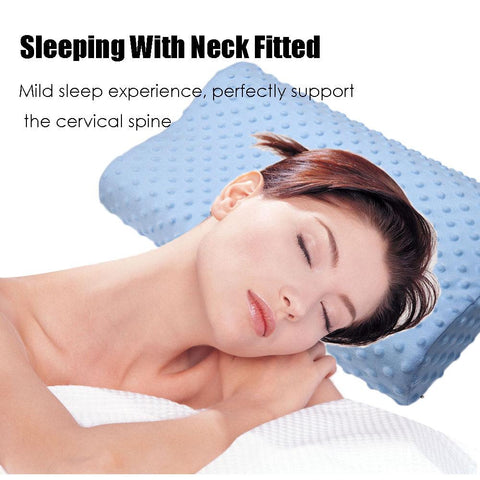 Image of Latex - Memory Foam Orthopedic Pillow - 3 Colors