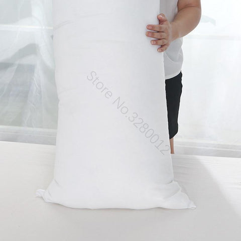 Image of 100% FEATHER Fill Vertical Full Body Hugging Pillow