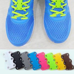 No-Tie Shoelaces - Magnetic Shoelace Buckle