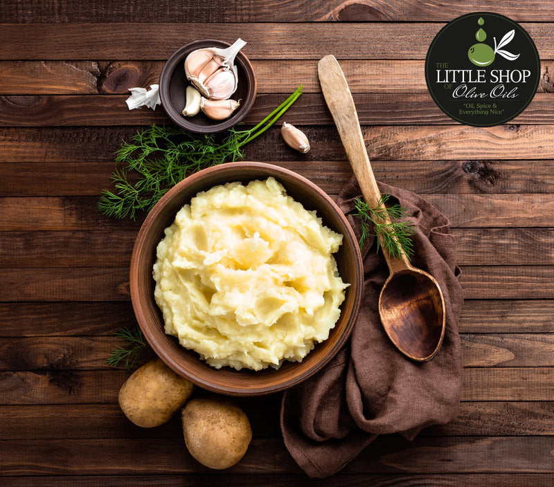 Dill Mashed Potatoes | The Little Shop of Olive Oils