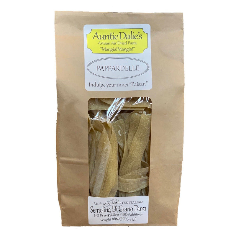 Auntie Dalie's Artisan Air Dried Pasta - The Little Shop of Olive Oils