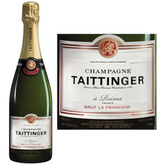 Champagne Taittinger, Champagne Brut La Francaise - The Little Shop of Olive Oils