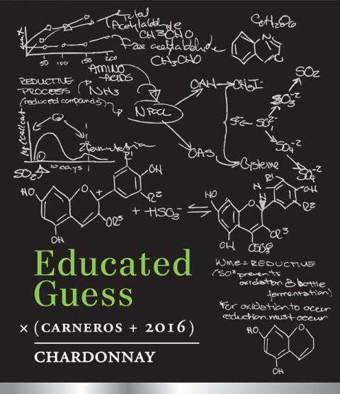 Educated Guess, Chardonnay (2016) - The Little Shop of Olive Oils