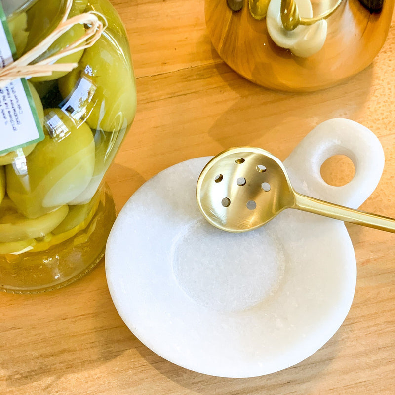 Marble Dish - The Little Shop of Olive Oils
