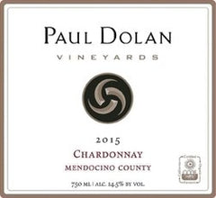 Paul Dolan, Chardonnay Mendocino County (2018) - The Little Shop of Olive Oils