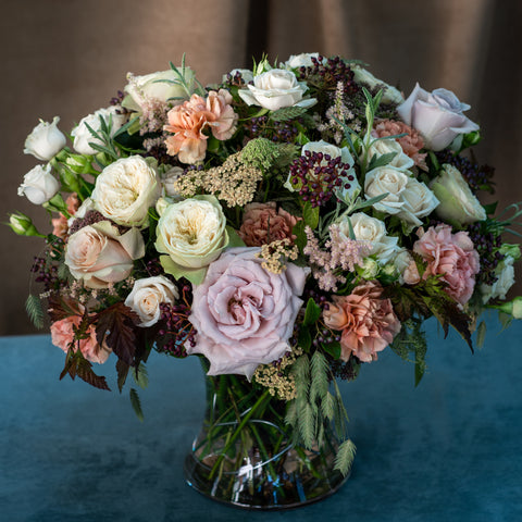 Contemporary - Roses and Dianthus Mix