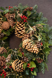 The Berkshire | Fresh Door Wreath