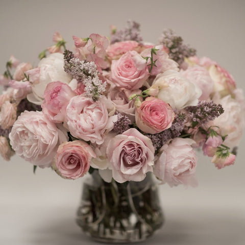 Classic - Blush Pink Rose Arrangement