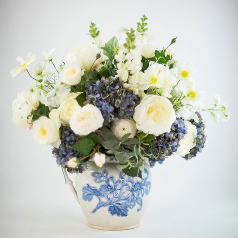 Vintage Water Jug Arrangement