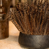 Pheasant Feather Arrangement In Bronze Bowl