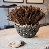 Pheasant Feathers & Quail Eggs Arrangement