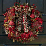 960x960**center**Deluxe-size ruby wreath**enquire