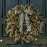 Deluxe-size Sage Wreath