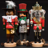 480x480**center**Trio of nutcrackers - Puss in Boots, Drosselmeier & Mouseking**enquire