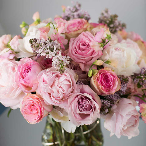 Mixed Peonies and Roses