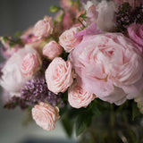 Pastel Peonies, Roses and Sweetpeas